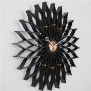 Sunflower Premium Maple Aluminum Hands Wall Clock Bedroom Living Room Decor Wall Clocks