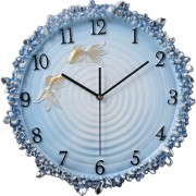 Wholesale Three-dimensional Silent Clock Creative Home Living Room Decoration Wall Bedroom Clock