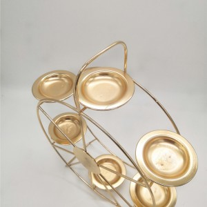 Ferris Wheel Custom Metal Crafts Monden Lantern Wedding Candlestick
