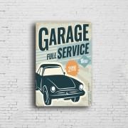 Wholesale Wall Decor Automotive Metal Car Parking Tin Signs