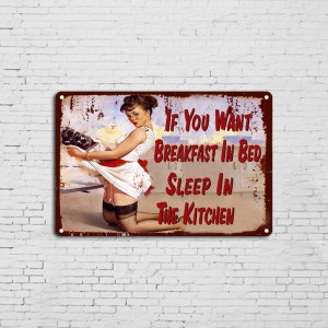 Home Bar Decor Vintage Custom Metal Plate Printing Tin Sign Poster
