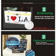 Flatbed UV Printing Metal Tin Signs Store Decorative Custom Design Vintage Plaque