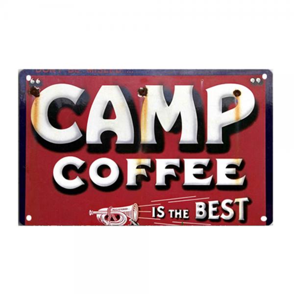 Beer Coffee Club Decor Retro Tinplate Signs Word Warning Signs