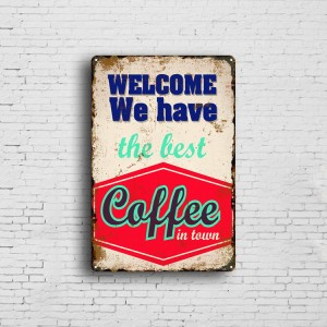 High Quality Metal Signs Home Decorative Vintage Retro Custom Tin Plaque