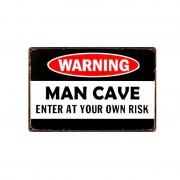 Wholesale Novelty Metal Plaque Warning Signs Custom Made Decorative Retro Metal Tin Signs