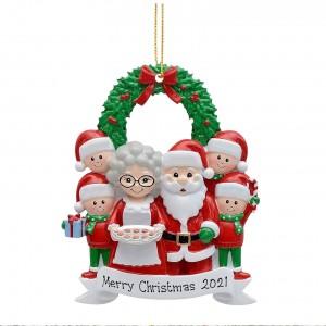 2021 Christmas Decoration Supplies Santa Claus Ornaments Christmas Tree Ornament for Christmas Decorations Gift