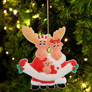 Christmas Ornament Family Decoration DIY Personalized Christmas Tree Hanging Pendant Home Decor